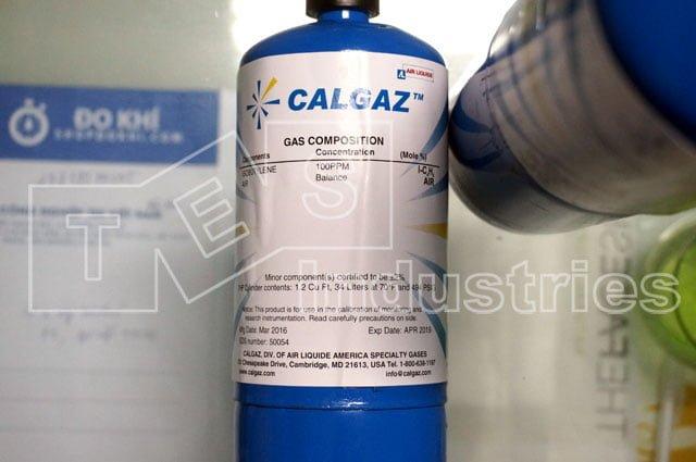 Calgaz 7HP, Iso-Butylene I-C4H8 100ppm Standard Gas Bottles