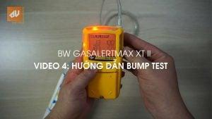 No.4 – Bump test máy đo khí GasAlertMax XT II