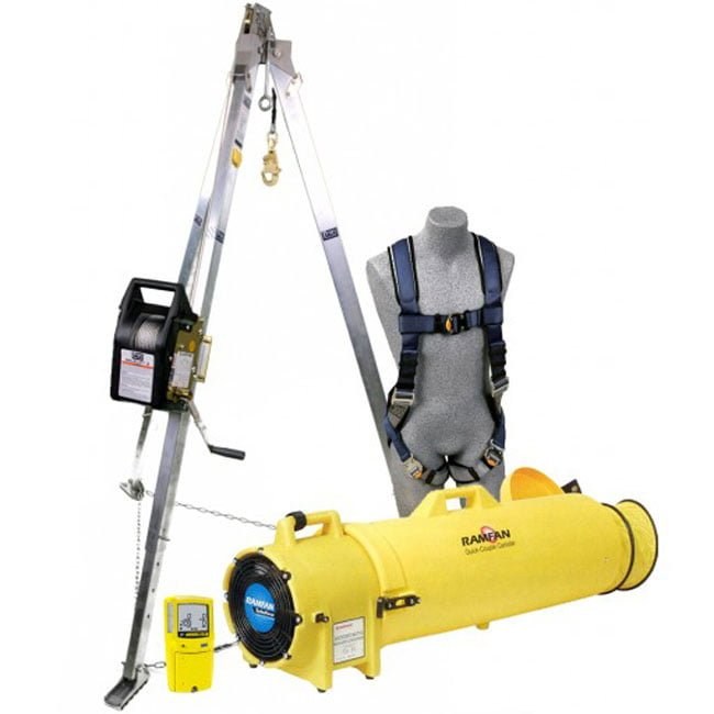 Working Kits in Confined Space