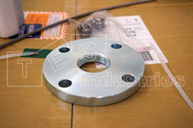 Mặt bích tiêu chuẩn được cấp kèm cảm biến đo mức Silo