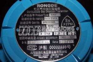 Giới thiệu đầu báo khí Hydro carbon (HC) buồng bơm Model Rongde RDKR-1