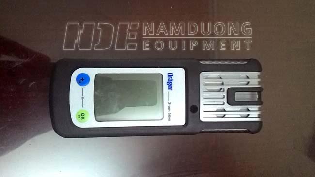 Draeger X-am 5600 Gas Detection Machine / Front Machine