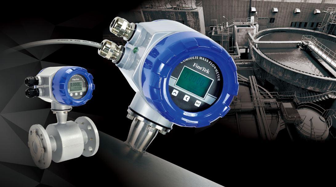 Giới thiệu cảm biến lưu lượng kiểu điện từ Finetek EPD