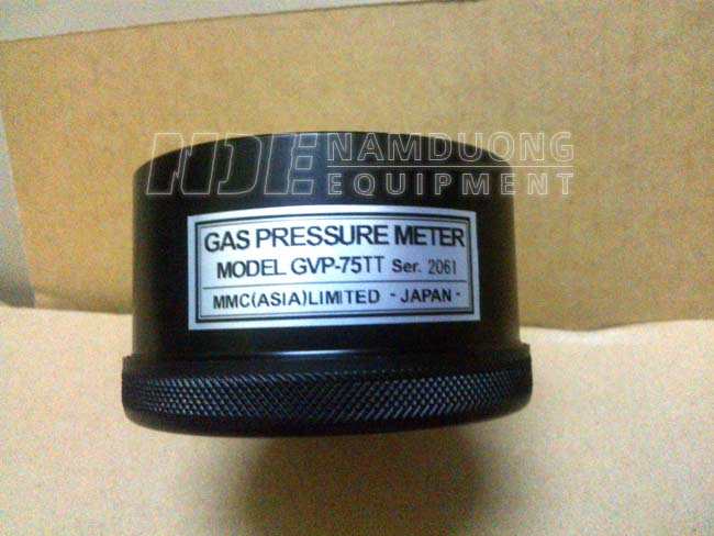 Đồng hồ đo khí trơ hầm hàng MMC GVP-75 - Mặt lưng