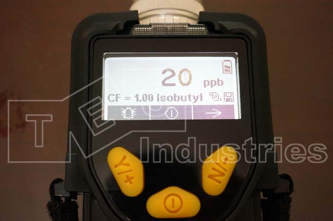 Voc ppbRAE 3000 Organic Gas Detection Manual