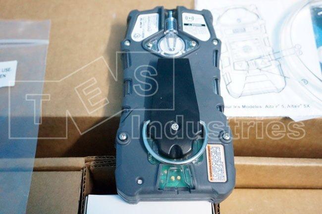 Back of MSA Altair 5X multi-target gas detector