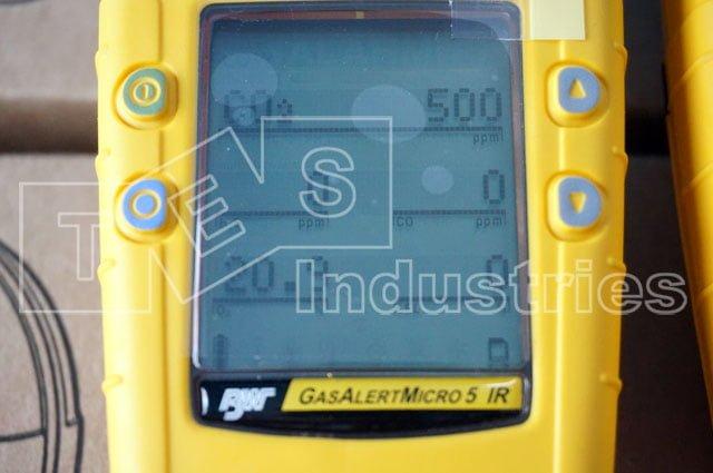 Màn hình hiển thị siêu lớn của BW GasAlert Micro 5