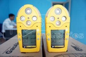 Hình ảnh chi tiết thực tế máy đo khí GasAlert Micro 5, hãng BW