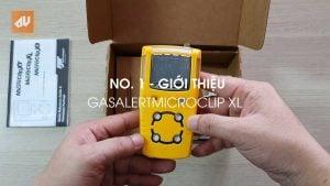 No. 1 – Giới thiệu máy đo khí GasAlertMicroClip XL