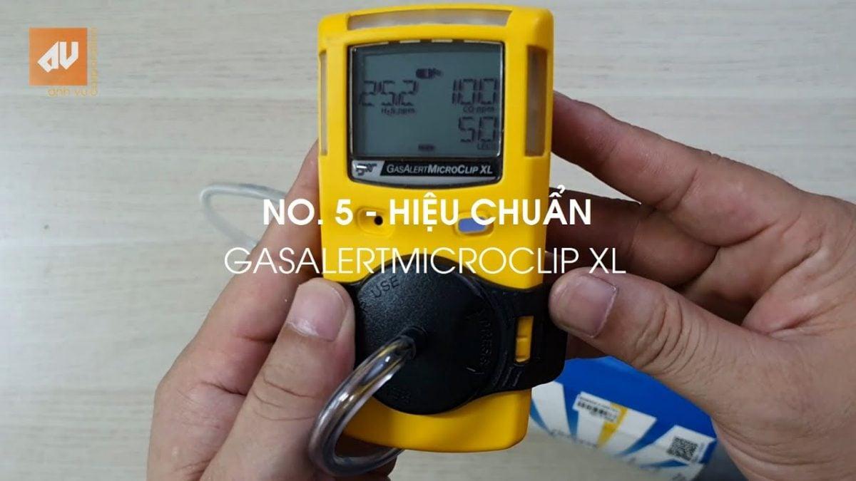 No. 5 – Hướng dẫn hiệu chuẩn Máy đo khí BW GasAlertMicroClip XL