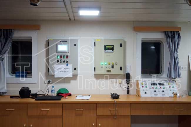 Hệ thống kiểm soát thải dầu ODME và báo khí Hydro carbon buồng bơm
