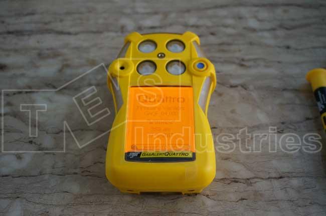 Màn hình khởi động máy đo khí đa chỉ tiêu GasAlert Quattro