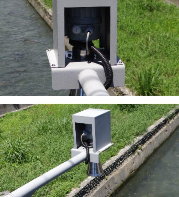 Ứng dụng cảm biến Rada đo nước sông