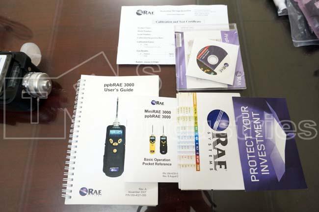 Tài liệu hướng dẫn sử dụng, phần mềm kèm theo RAE system ppbRAE 3000