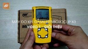 Máy đo khí GasAlertMicroClip X3 – Video 1: Giới thiệu