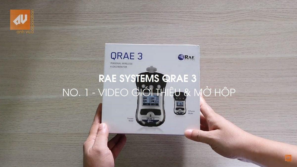 Máy đo khí Qrae 3