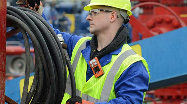 How to choose the right position to wear a gas detector?