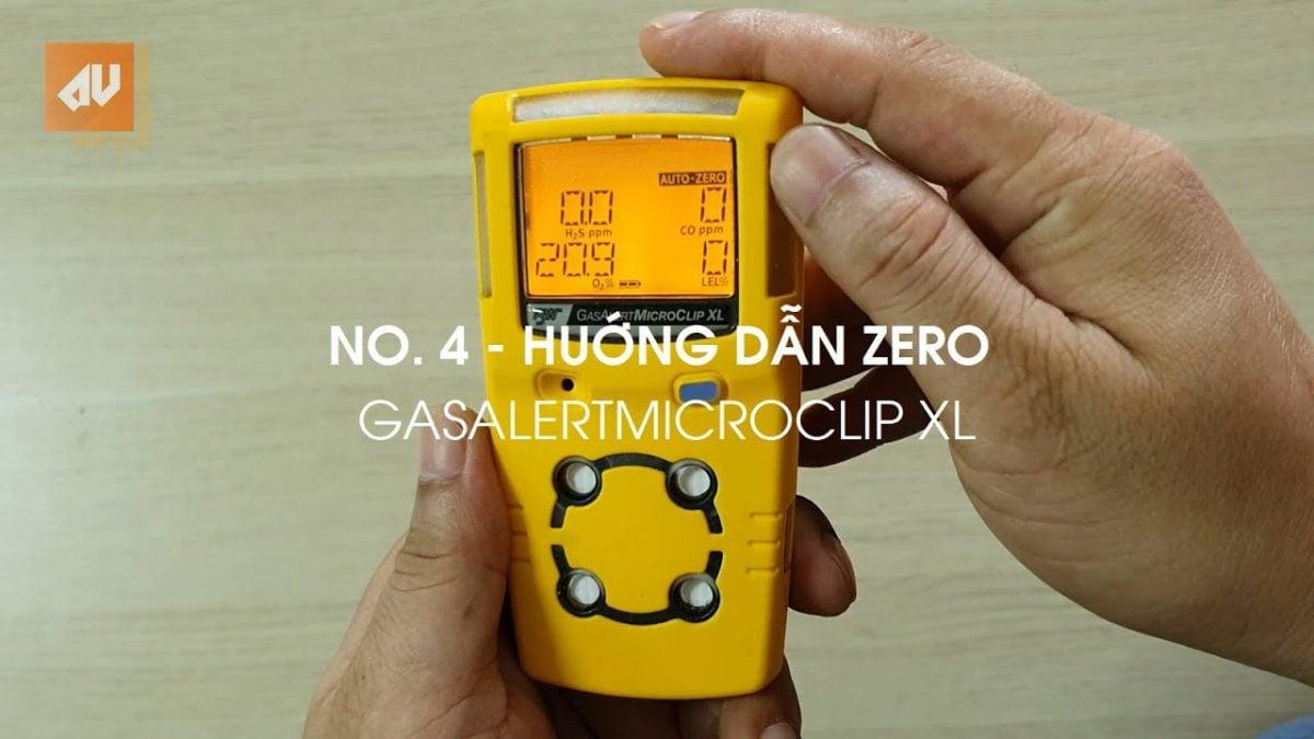 No. 4 – Zero máy đo khí GasAlertMicroClip XL