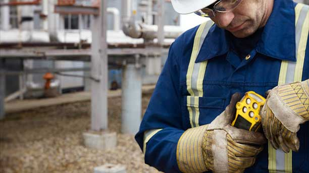Always use a handheld gas detector for individuals even when there is a fixed system
