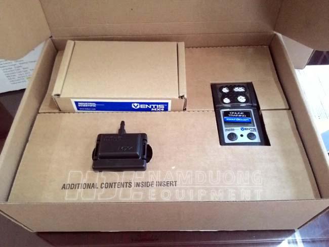 Hộp thiết bị đo dò phát hiện nồng độ khí Ventis MX4