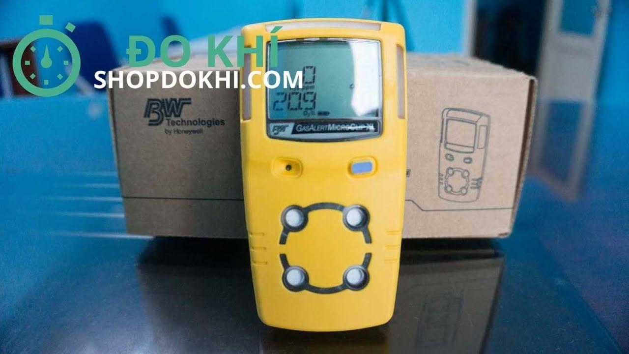 Máy đo khí Gas alert Micro Clip XL