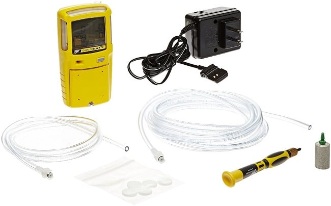 Pumped gas detector for use on the seagoing vessel GasAlertMax XT II