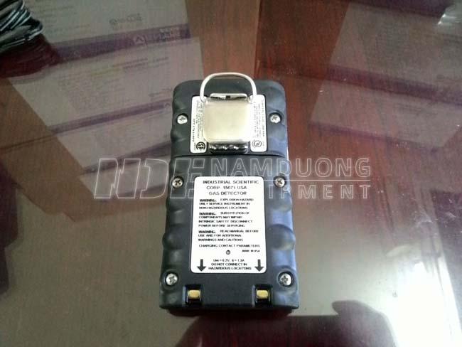 Máy đo khí cầm tay Ventis MX4 - Mặt sau