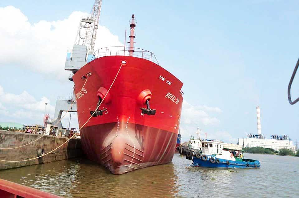 Dự án #Tàu chở dầu ROYAL 79