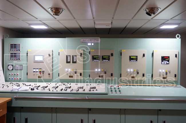 Tổng thể các hệ thống báo động tàu dầu trong buồng làm hàng