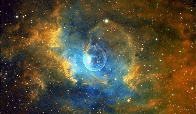 Một vụ nổ siêu lân tinh ngoài không gian