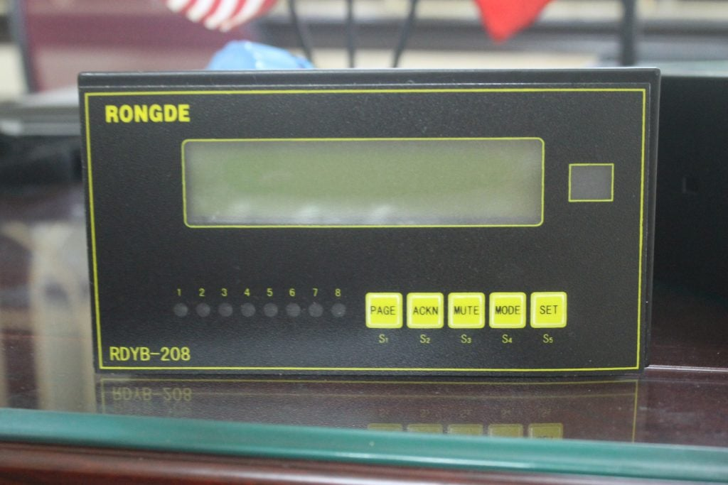 Bộ đo áp lực hoặc nồng độ khí Rongde RDYB-208
