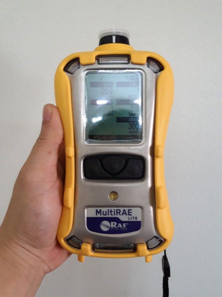 Máy đo khí MultiRAE Lite PGM-6208