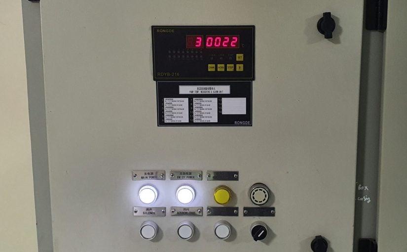 Bàn giao hệ thống đo lường và báo động nhiệt độ bơm cho tàu dầu
