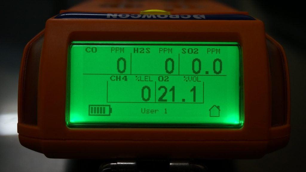 Crowcon Gas-Pro đo 5 khí đồng thời: CO; H2S; SO2; CH4; O2