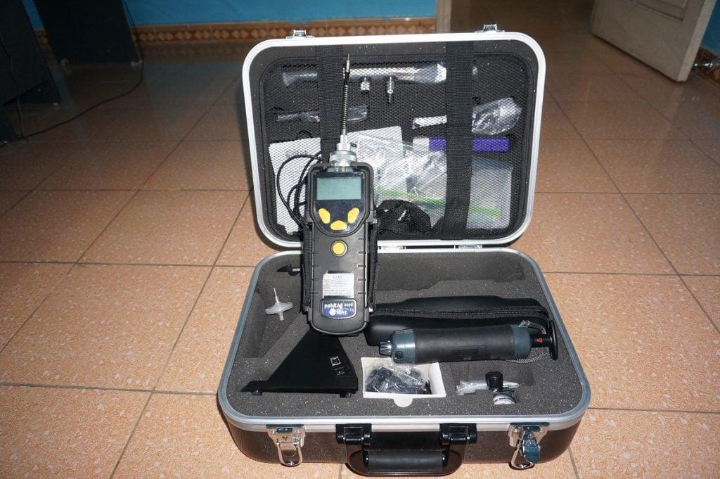 Bộ kít máy đo khí ppbRAE 3000 kèm bơm hút