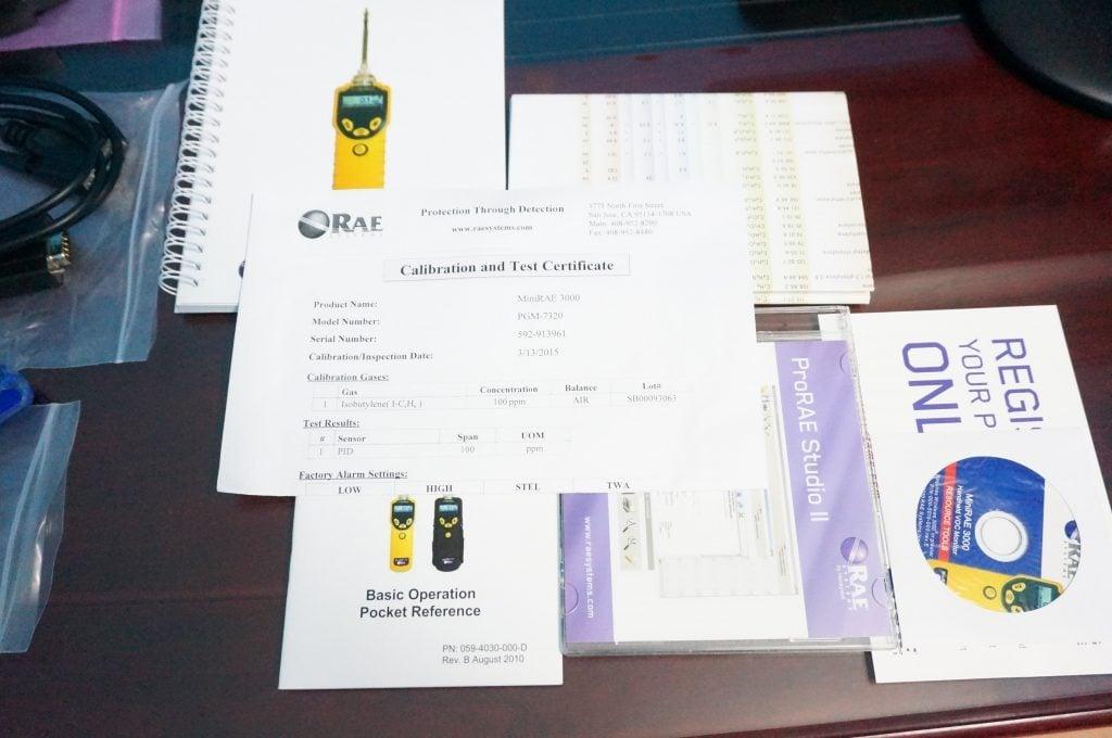 MiniRAE 3000 Documentation