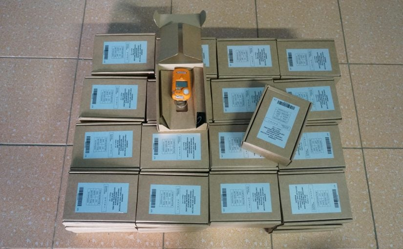 List of Frequently Imported Crowcon UK Portable/Fixed Gas detector (25/5/2021)