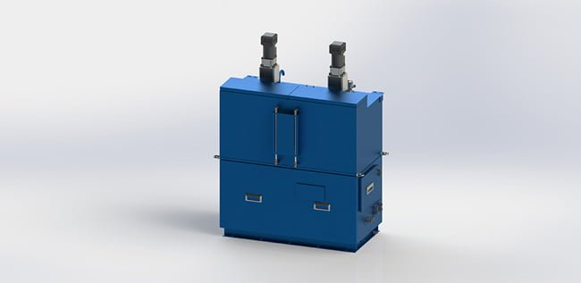 Ballast water treatment system neutral block