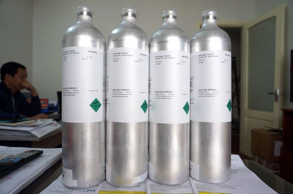 Bình khí chuẩn NH3