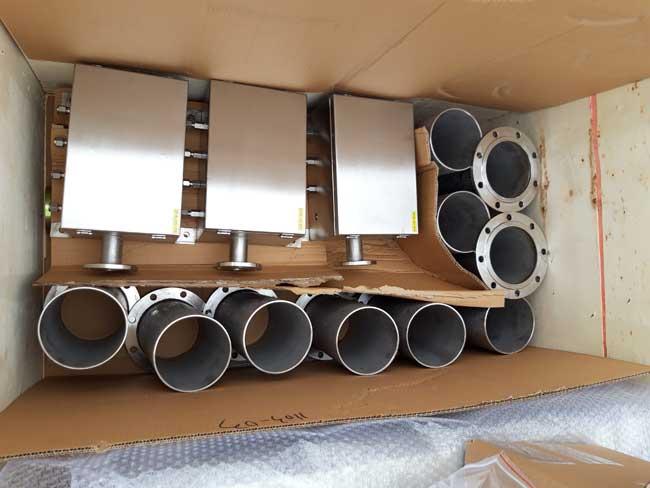 Flange Mounting Sensor Float, Stainless Steel Flange 304