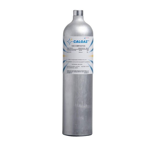 Bình khí chuẩn Calgaz 8AL
