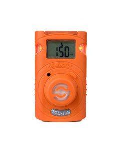 Máy đo khí độc đơn chỉ tiêu Crowcon Clip SGD, H2S/CO/O2