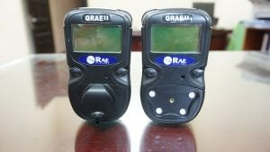 Basic instructions on how to use and zero Qrae II gas detector of Rae System