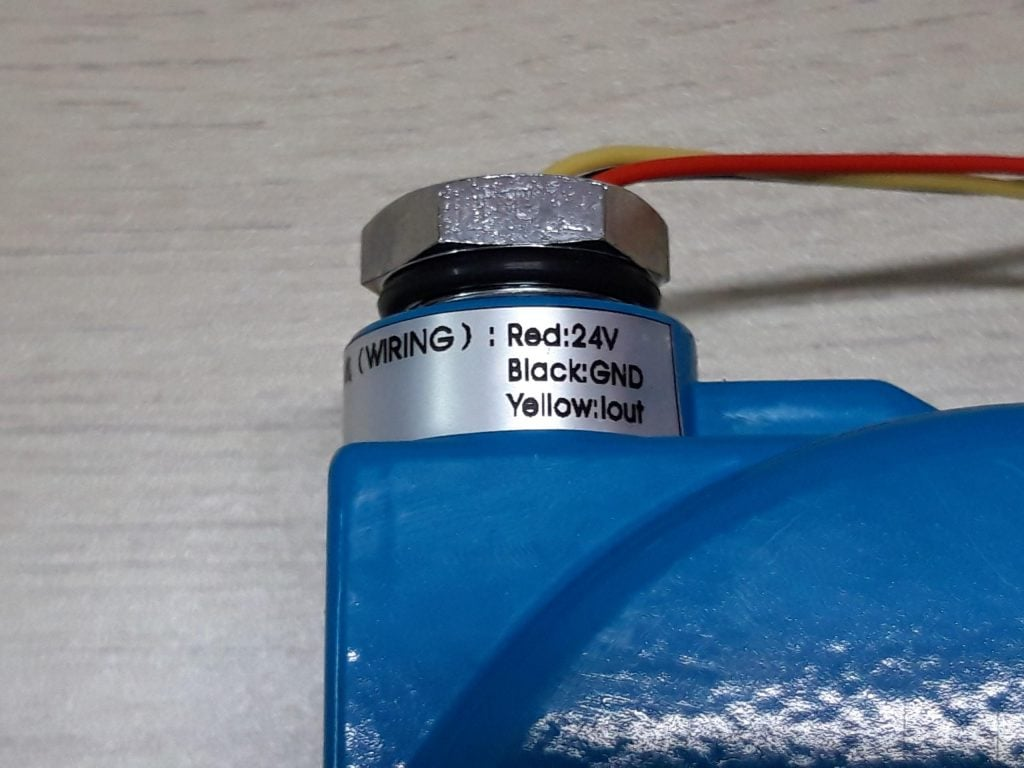 Only gradually connect the Gas Detector