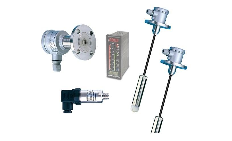 Cảm biến đo mức liên tục kiểu áp suất EC Series