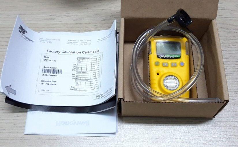 Máy đo đơn khí GasAlert Extreme cùng phụ kiện