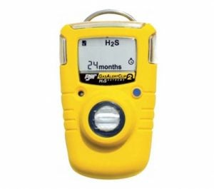 BW GaslertClip Extreme 2 years Single Gas detector, optional H2S/O2/CO/SO2