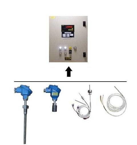 Hệ thống báo nhiệt độ hầm hàng tàu dầu / hóa chất
