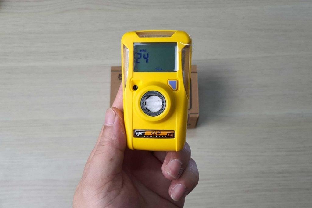 Máy đo khí BW Clip, đo khí SO2
