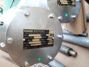 Installation of Float level, temperature, pressure of oil tankers